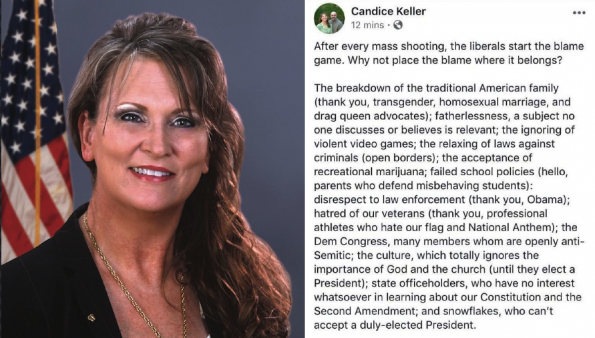 Ohio Lawmaker Blames Mass Shootings On Gays, Trans, And